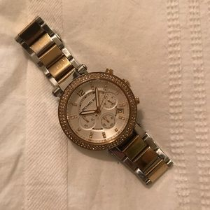 Michael Kors Dual Toned Watch